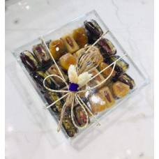 Ramadan Sweets- 1200 gms arranged In a special plexi pox
