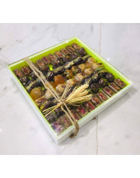 Ramadan Sweets- 1350gms arranged In a special plexi box