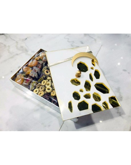 Ramadan Sweets- 1500gms arranged In a special plexi box